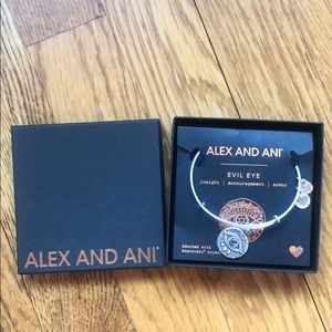 Alex and Ani evil eye bracelet